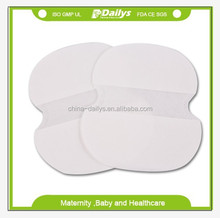 spot goods disposable armpit pad with USA fluff pulp price