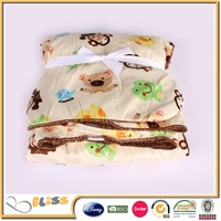 shaoxing supplier 10 years experience micro plush fleece baby blanket sherpa lining fabric