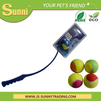 Jiangsu Sunny Pet Toys 38cm PP tennis squeeze dog toy for export