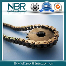 China stainless carbon steel sprockets and chains