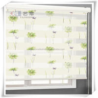 Yilian Wholesale Zebra Fabric Best Price Window Blinds Windows With Built in Blinds