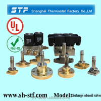 compressor unloader valve for CFC HCFC oil water gas
