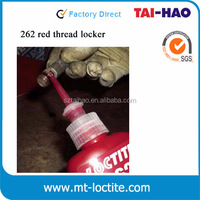 liquid 50ml bottle locktite 262 acrylic screw glue sealant - anaerobic adhesive thread lock - red locktite 262