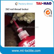 liquid 50ml bottle locktite 262 acrylic screw glue sealant - anaerobic adhesive thread lock - red locktite 262