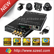 3G/4G Download/ WIFI Auto download Free Platform support 3G GPS WIFI 256GB SD Card mini size 1080P in car Video Recorder