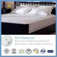 Hipoalergénico con cremallera cama Bug prueba Encasement colchón funda