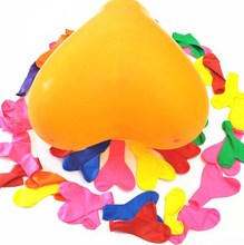 CRD Brand Promotional Latex party decoration colorful heart balloons