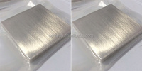 Bismuth Metal Bismuth target 99.99% purity of size 508*508*80mm