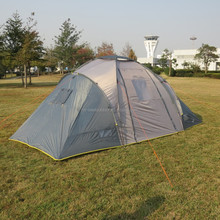 6 Man Three Rooms Family Camping Tent