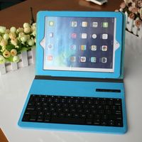 2015 Hot selling most popular PU Leather case with ABS detachable keyboard for laptop iphone ipad