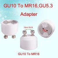 eb3417 gu10, mr16 женский легкий конвертер гнездо лампы адаптер под основание держателя галогенные