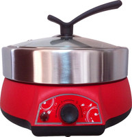 MINI multifunction cooker with BBQ grill & steam rack