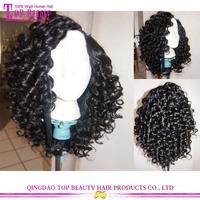Molado curl high quality low price short hair wigs for black women