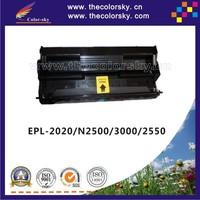 (CS-E2020) compatible toner cartridge for EPSON EPL-2020 EPL-N2500 EPL-3000 EPL-2550 EPL 2020 N2500 3000 2550 SO51091 10k bk
