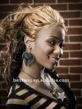 Women's long wavy virgin brazilian hair full lace wig human hair wigs