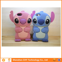 Mobile Phone Case 3D Stitch Silicone Rubber soft cover for samsung galaxy y s5360