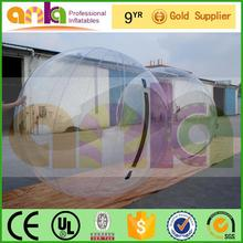 Manufacturer supply half inflatable zorb ball made in China