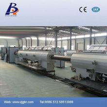 Pe/pp tubo linea di produzione 1.600 millimetri di grande diametro tubo in pe linea di estrusione tubi in pvc saldatura