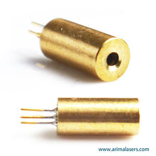 650nm 5mW 3V D4 mm Red Laser Diode Module, Fixed Focus Glass Lens Red Laser Diode Module for Sight Aiming/ Measure Tools