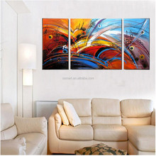 Handmade Group Of Oil Paintings Modern Abstract Pictures Home Decor Landscape Hang Paintings Wall Art Picture