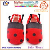cotton slip on babay shoes MOQ 90 /MIX 3 SIZE