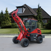 ZL10 mini compact wheel loader with high quality