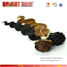Premium quality Natural style clip in hair extensions for black women