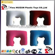 Yiwu Factory Wholesale U-Shape Inflatable Travel Neck Pillow