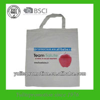 Promotional natural cotton shopping bag for supermarket