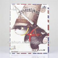Pirate Cat leather case stand for ipad