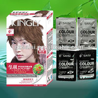 2013 SAISI permanent red hair color samples
