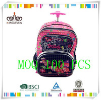 2015 new style backpack school bags for high school student