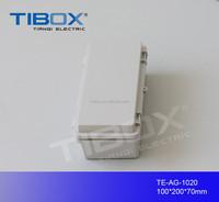 TIBOX hot sale high quality PVC Terminal box 12v switch box 110X150X70mm