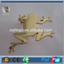 frog shape badge car sticker auto metal emblem