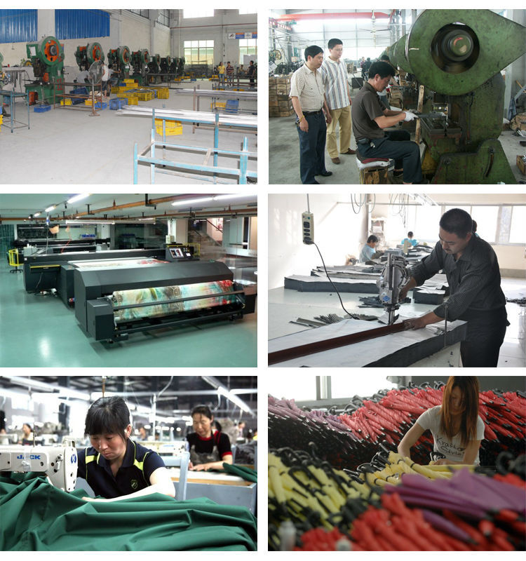 Leopard Print Straight Umbrella Manufacturer Windproof Umbrella