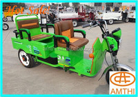 Electric Wholesale Cargo Tricycle In 205 Hot Sale Three Wheeler,Battery Powered Electric Rickshaw For Cargo Use,Amthi