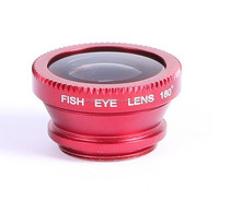 3 in 1 Set 180 Degree Fish Eye Lens + Wide Angle + Micro Lens