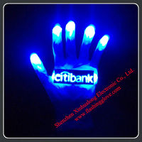 Magic led gloves/led light up glove/flashing led gloves manufacturer