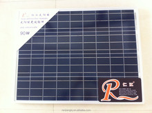 High efficiency 90W poly solar panel with competitive price customization available