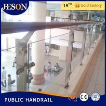 cheap frameless glass deck railing