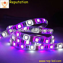 Waterproof high lumen multicolor color smd 5050 battery powered led ribbon lights