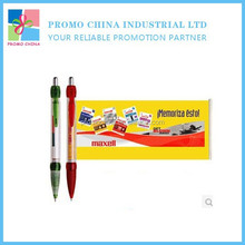 2015 New Hot OEM Custom Printed Promotional Banner Pen