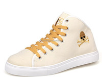 SRX563 men fashion popular comfortable high-cut skate casual shoes with skull