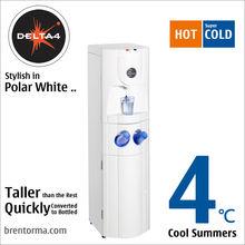 Delta 4 (WCPHD4) Innovative Taller Hot and Cold POU or Bottleless Water Cooler
