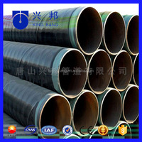 pe plastic coated carbon steel pipe for gas oil pipe