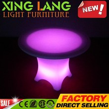 purple LED PE plastic RGB color change waterproof LED buy furniture from china table with remote control