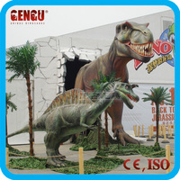 inflatable dinosaur outdoor playgrounds simulated dinosaurs