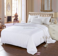 Pure White 100% Mulberry Silk Comforter Washable Silk Duvet/Silk Quilt