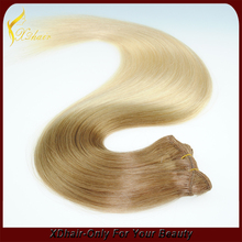 new beautry two tone blonde ombre colored brazilian human hair weave