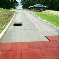 Gold Supplier factory cheap price outdoor rubber driveway mats